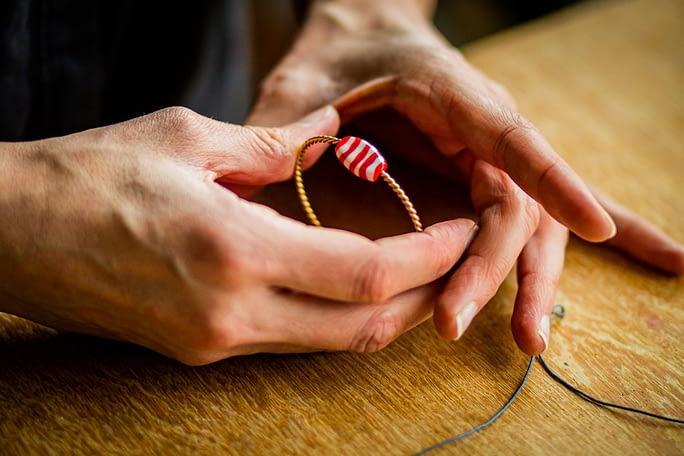 prototype bracelet en verre